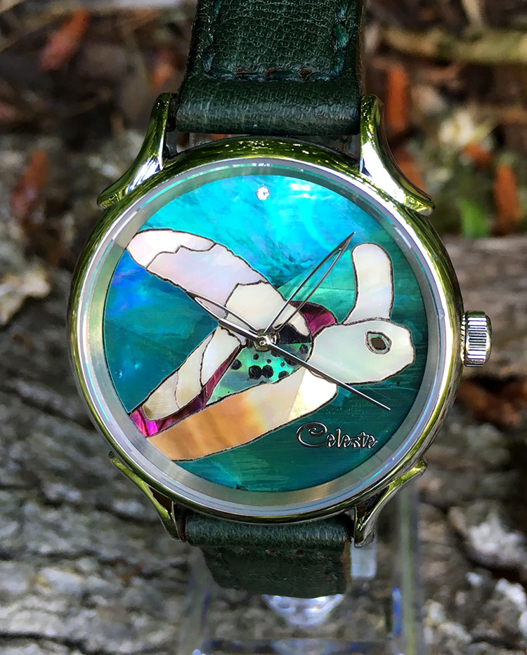 Turtle Watch by Celeste Watch Company